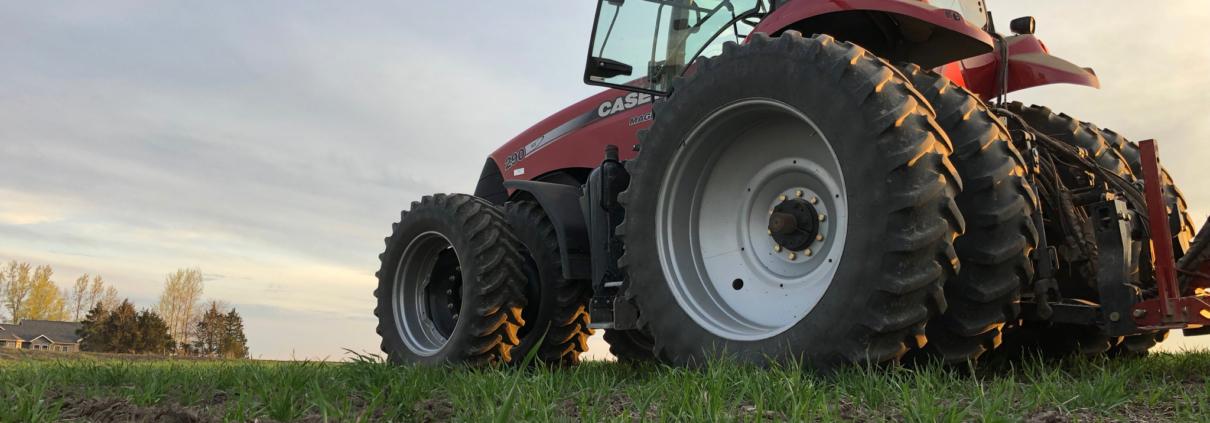 Continuum Ag, tractor, soil health
