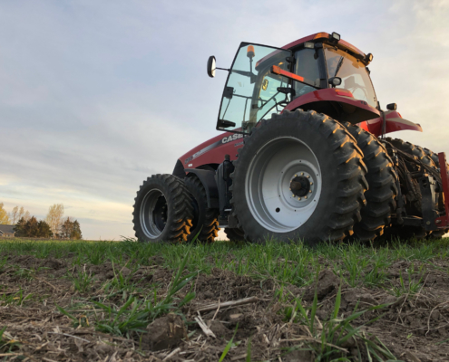 Continuum Ag, tractor, soil health